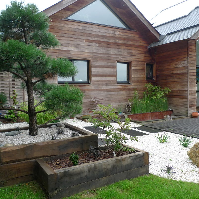 Ameline Arbora Paysagiste massif japonais dinan